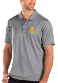 San Diego Padres Antigua Balance Polo Shirt - Grey
