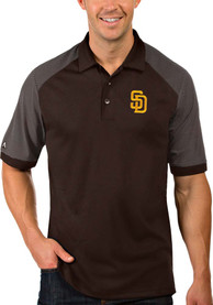 San Diego Padres Antigua Engage Polo Shirt - Brown