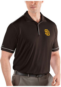 San Diego Padres Antigua Salute Polo Shirt - Brown