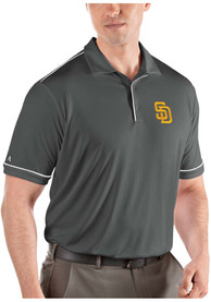 San Diego Padres Antigua Salute Polo Shirt - Grey