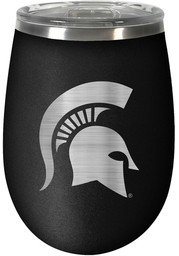 Michigan State Spartans 10oz Stealth Stemless Wine Stainless Steel Tumbler - Black