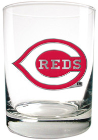 Cincinnati Reds 14oz Emblem Rock Glass