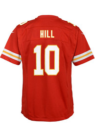 competitive price 5d07e a89ae Tyreek Hill Outer Stuff Kansas City Chiefs Youth Red 2018 Home Jersey
