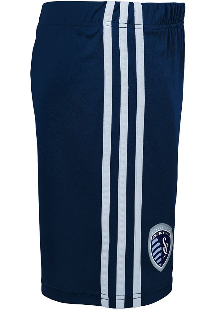Sporting Kansas City Boys Navy Blue Fan Shorts - Image 2