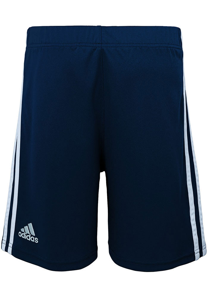 Sporting Kansas City Boys Navy Blue Fan Shorts - Image 3