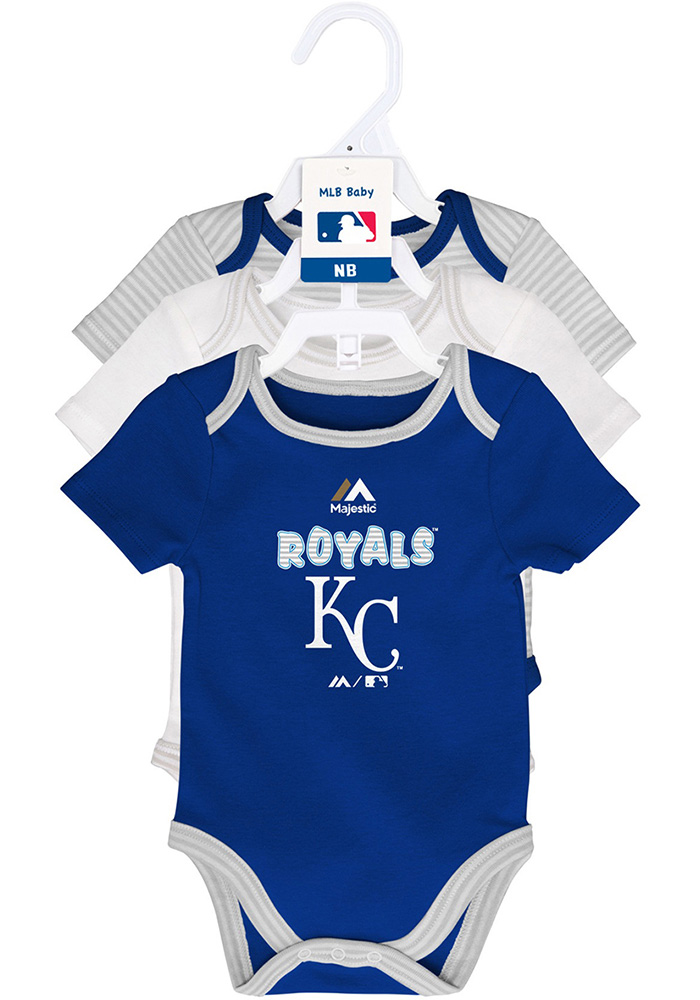 Kansas City Royals Baby Blue 3rd Down One Piece - Image 1