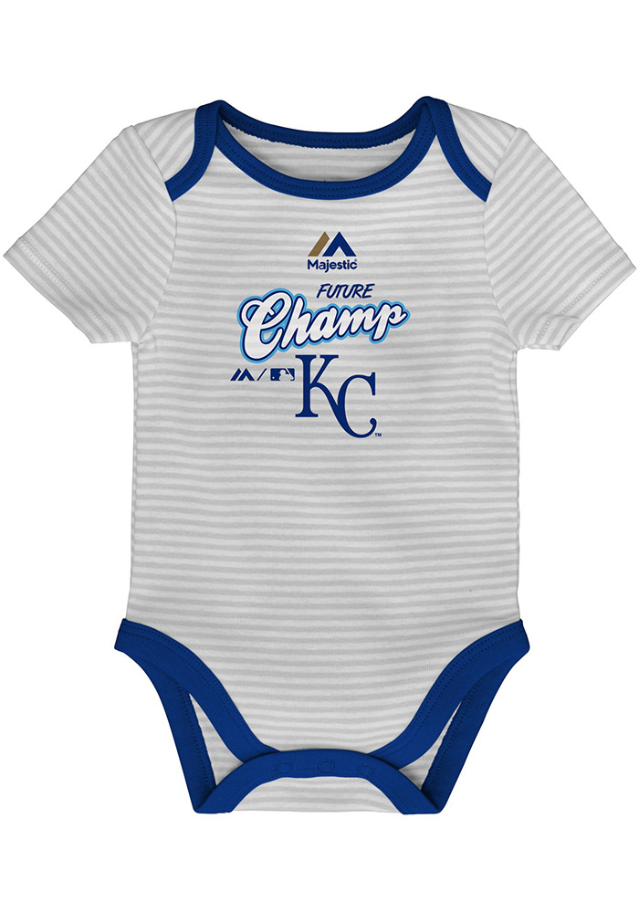 Kansas City Royals Baby Blue 3rd Down One Piece - Image 2