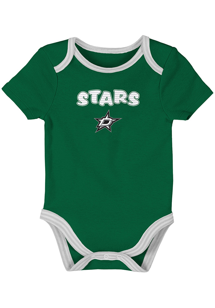 Dallas Stars Baby Kelly Green 3rd Quarter One Piece - Image 2