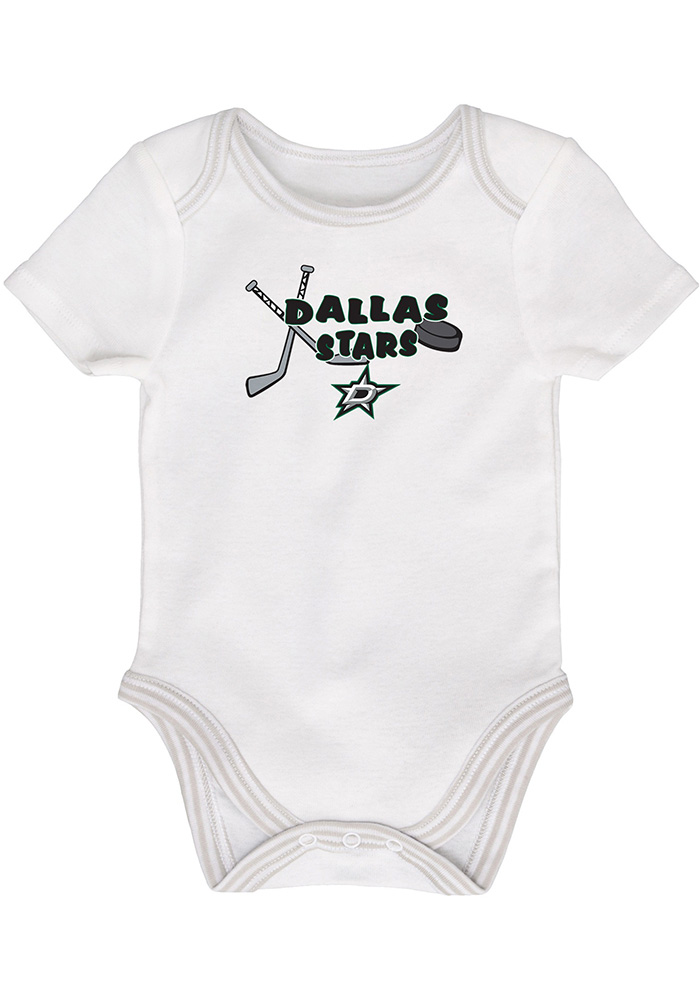 Dallas Stars Baby Kelly Green 3rd Quarter One Piece - Image 4