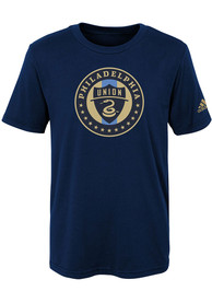 Philadelphia Union Boys Squad Primary T-Shirt - Navy Blue