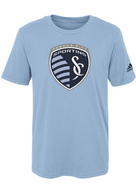 Sporting Kansas City Boys Squad Primary T-Shirt - Light Blue