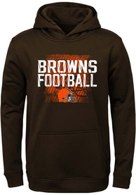 check out 2b70b 5b7d0 Cleveland Browns Youth Brown Attitude Hooded Sweatshirt