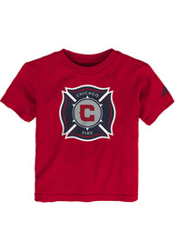 Chicago Fire Toddler Squad Primary T-Shirt - Red