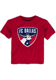 save off 3489c 59bb8 FC Dallas Toddler Red Squad Primary T-Shirt