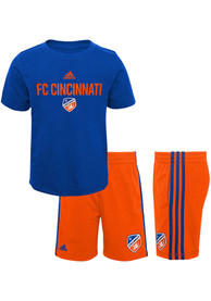 FC Cincinnati Toddler Locker Stacked Top and Bottom - Blue