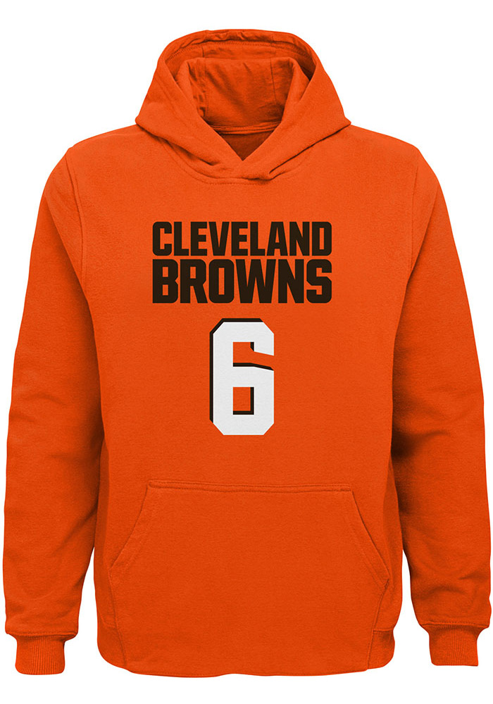 Baker Mayfield Cleveland Browns Youth Orange Name & Number Player Tee - Image 2