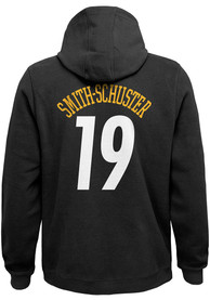 JuJu Smith-Schuster Pittsburgh Steelers Youth Name and Number Long Sleeve Hoodie Black