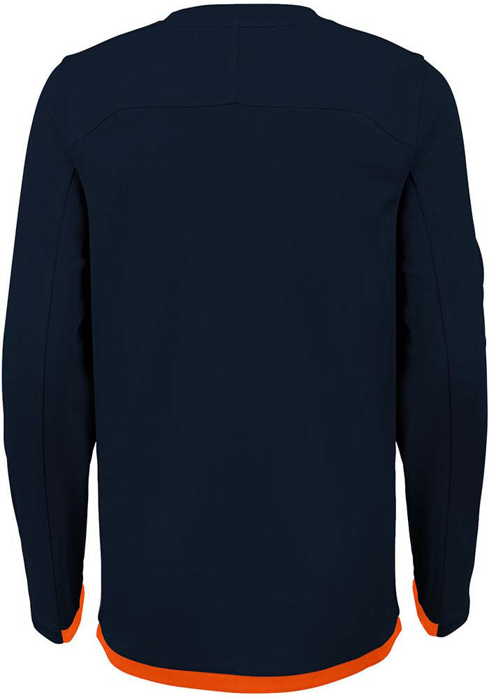 Chicago Bears Boys Grey Mainframe Long Sleeve T-Shirt - Image 2