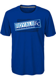Kansas City Royals Youth Field View T-Shirt - Blue