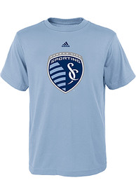 Sporting Kansas City Boys Primary Logo T-Shirt - Light Blue