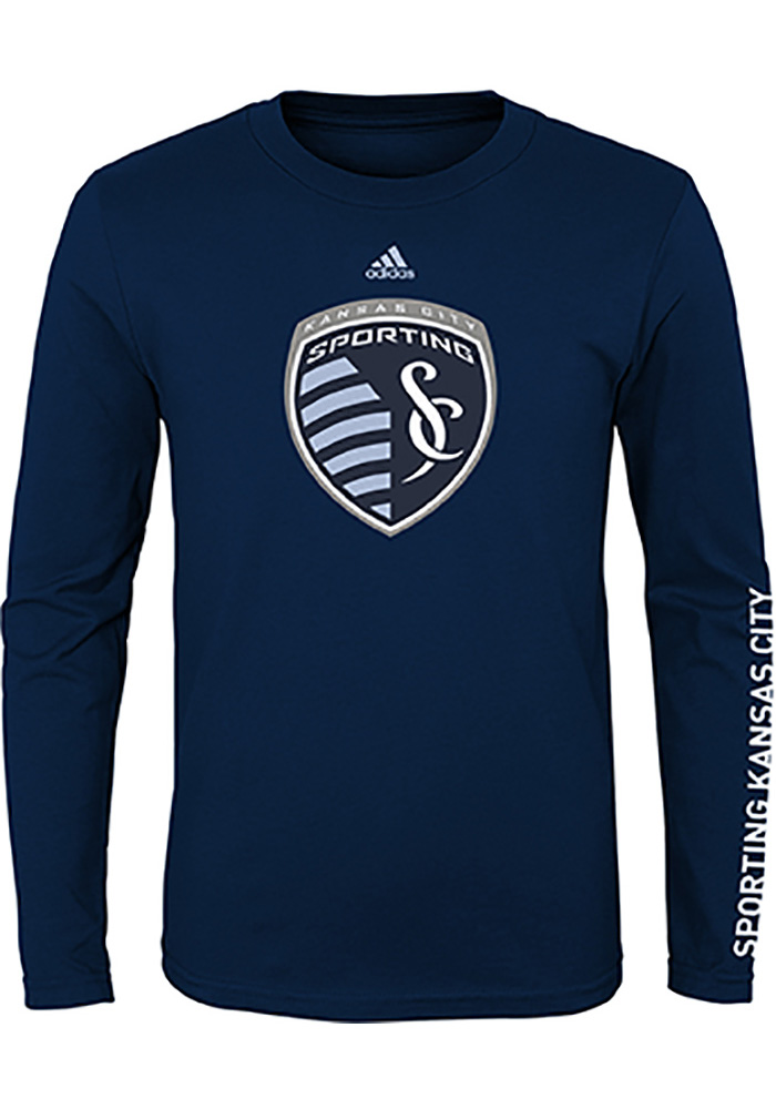 Sporting Kansas City Boys Leave A Mark T-Shirt - Navy Blue