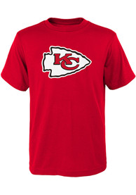 Kansas City Chiefs Youth Primary Logo T-Shirt - Red