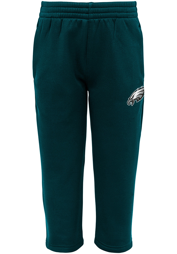 Philadelphia Eagles Infant Midnight Green Play Action Set Top and Bottom - Image 4