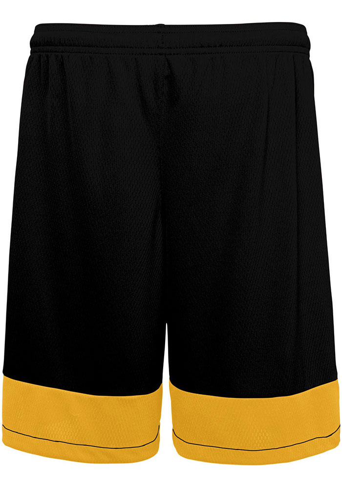 Pittsburgh Steelers Youth Black Knit Player Shorts - Image 3