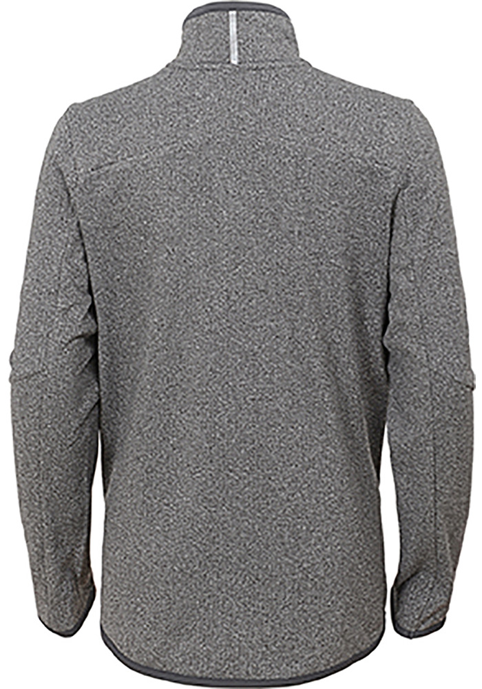 Cleveland Browns Youth Grey Motion Long Sleeve Quarter Zip Shirt - Image 2