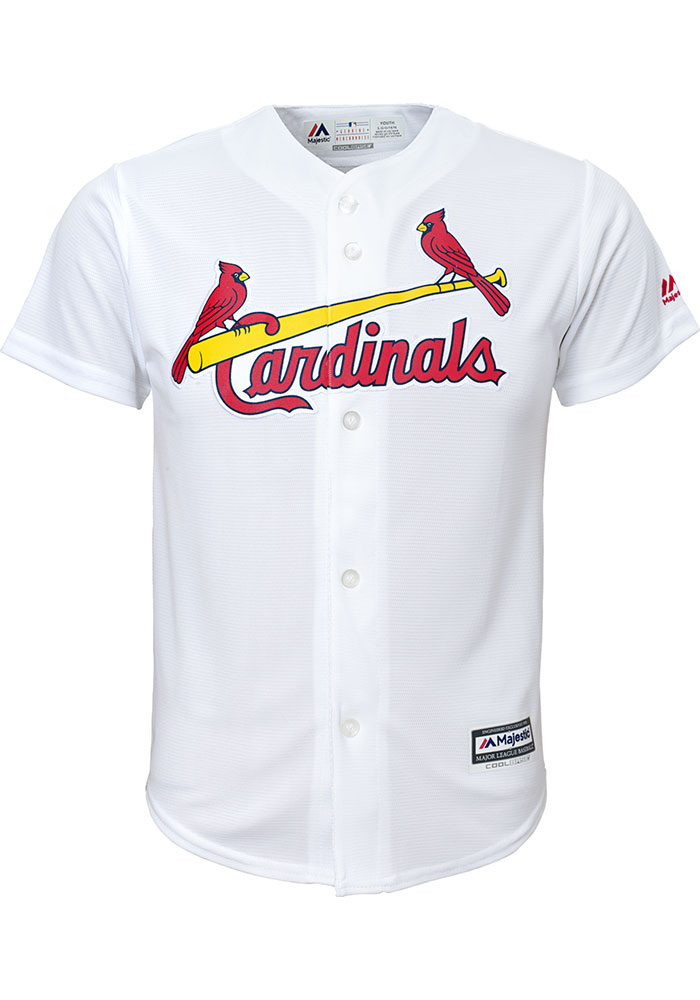 Paul Goldschmidt Outer Stuff St Louis Cardinals Youth White Replica Jersey - Image 2