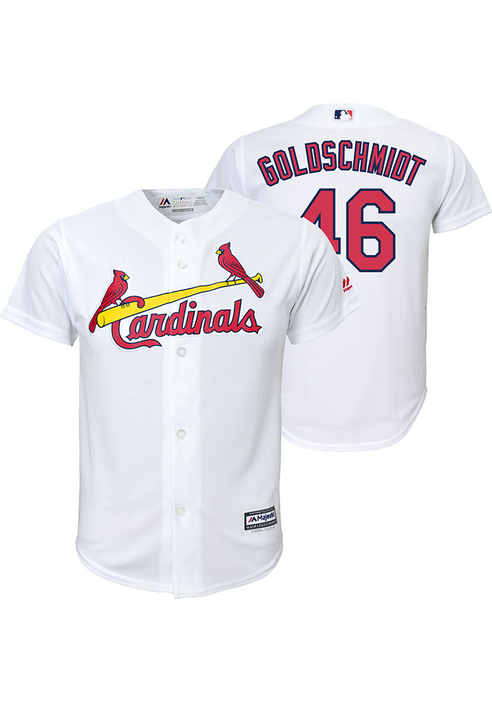 1aef9db4 Paul Goldschmidt Outer Stuff St Louis Cardinals Youth White 2019 Home Jersey