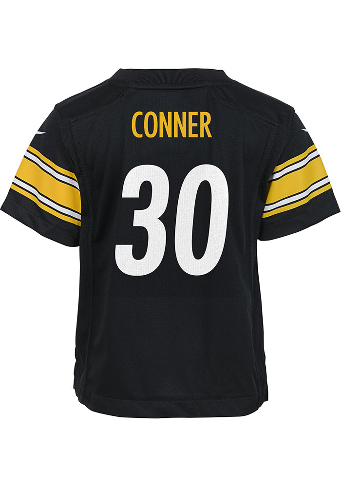 info for ed859 302a8 James Conner Outer Stuff Pittsburgh Steelers Boys Black Gameday Jersey  Football Jersey