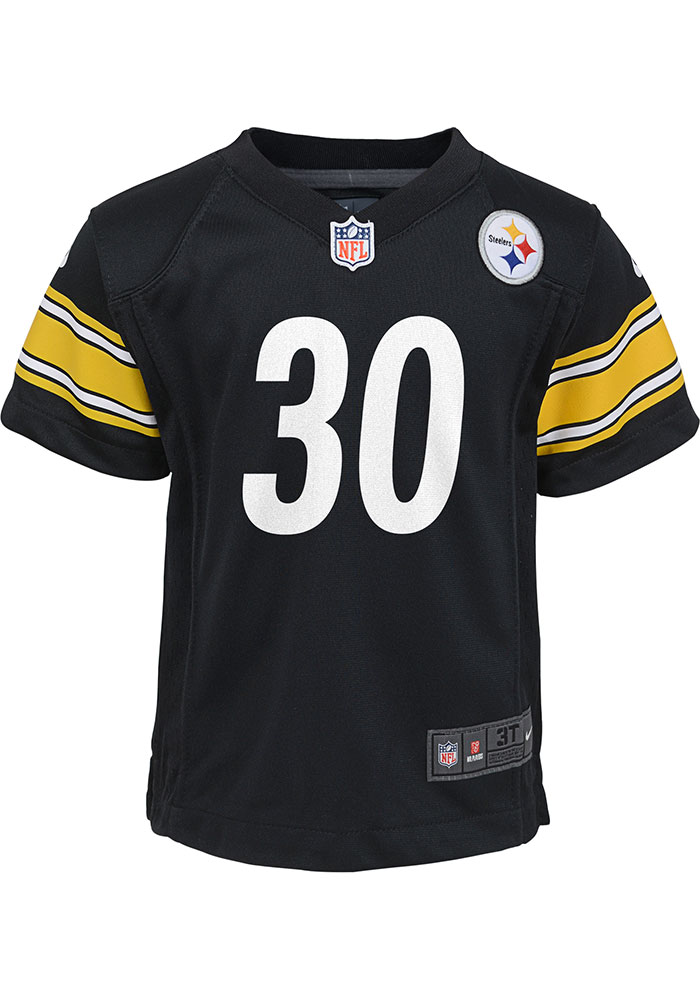 info for 44c9e 791d5 James Conner Outer Stuff Pittsburgh Steelers Boys Black Gameday Jersey  Football Jersey