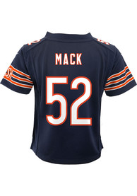 best sneakers 2bdbd 22271 Khalil Mack Outer Stuff Chicago Bears Toddler Navy Blue Gameday Jersey  Football Jersey