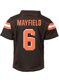 the best attitude 224b6 bdc02 Baker Mayfield Outer Stuff Cleveland Browns Toddler Brown Gameday Jersey  Football Jersey