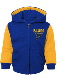St Louis Blues Toddler Stadium Full Zip Sweatshirt - Blue