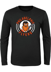 Gritty Philadelphia Flyers Youth Outer Stuff Gritty Circle T-Shirt - Black