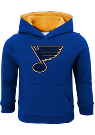 St Louis Blues Toddler Prime Hooded Sweatshirt - Blue