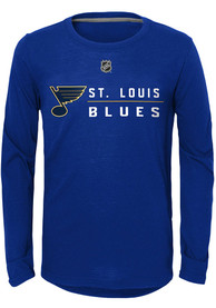 St Louis Blues Youth Deliver a Hit T-Shirt - Blue