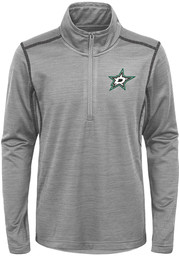 Dallas Stars Youth Back to the Arena Quarter Zip - Grey