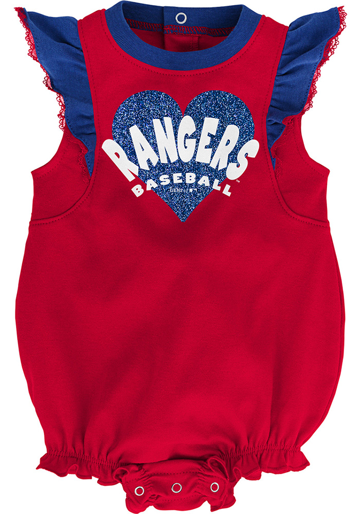 Texas Rangers Baby Red Double Trouble Set One Piece - Image 2