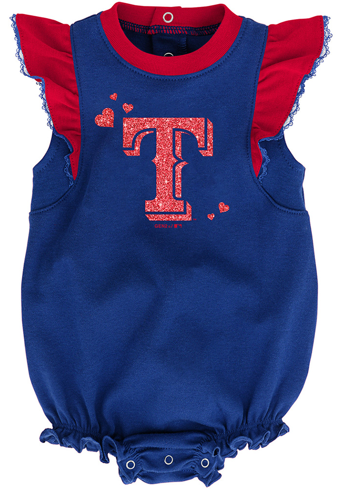 Texas Rangers Baby Red Double Trouble Set One Piece - Image 3