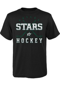 Dallas Stars Youth Digital T-Shirt - Black