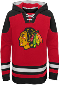Chicago Blackhawks Boys Ageless Must have Hooded Sweatshirt - Red