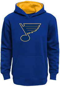 St Louis Blues Boys Prime Hooded Sweatshirt - Blue