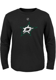 Dallas Stars Boys Primary Logo T-Shirt - Black