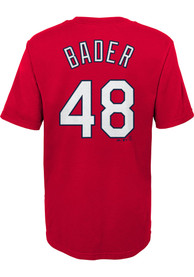Harrison Bader St Louis Cardinals Boys Outer Stuff N N T-Shirt - Red