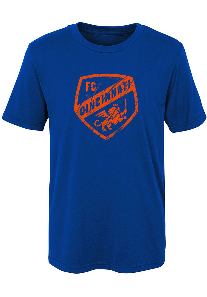 FC Cincinnati Boys Blue Rush To Score Short Sleeve T-Shirt - Image 1