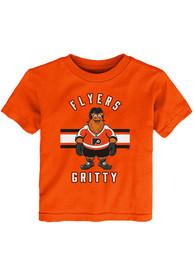 Gritty Philadelphia Flyers Toddler Outer Stuff Gritty Life T-Shirt - Orange