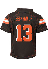 Odell Beckham Jr Cleveland Browns Boys Nike Game Football Jersey - Brown
